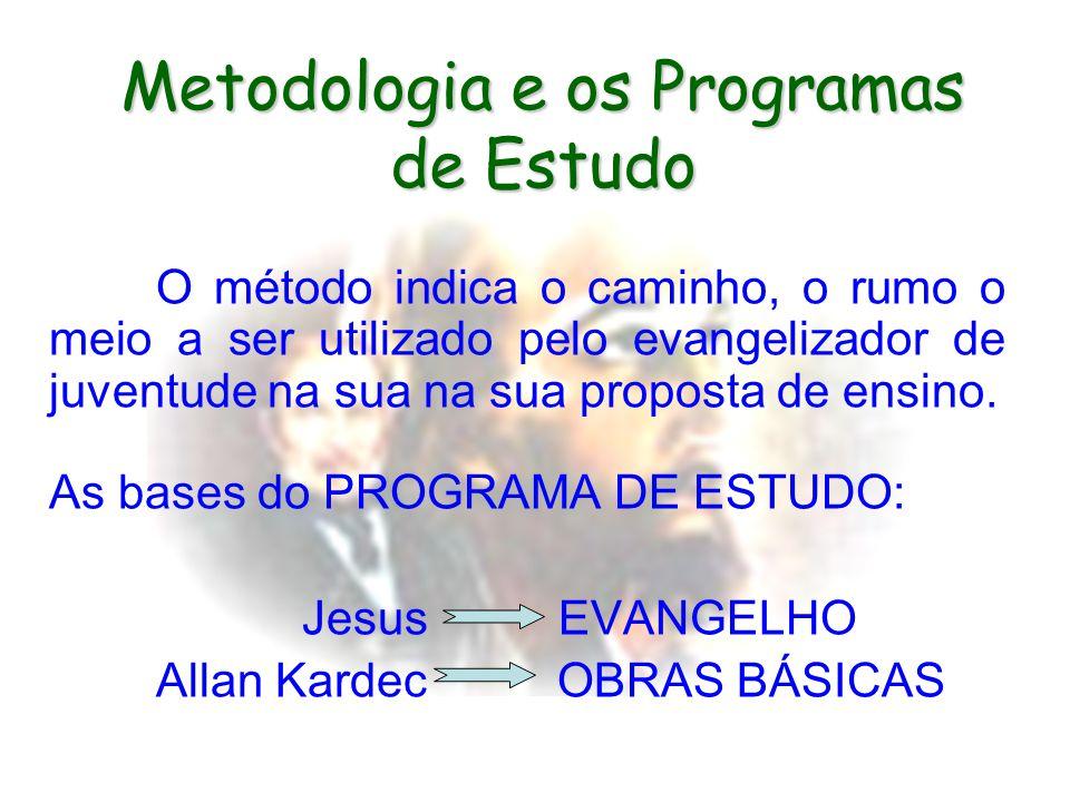 Metodologia e os Programas de Estudo