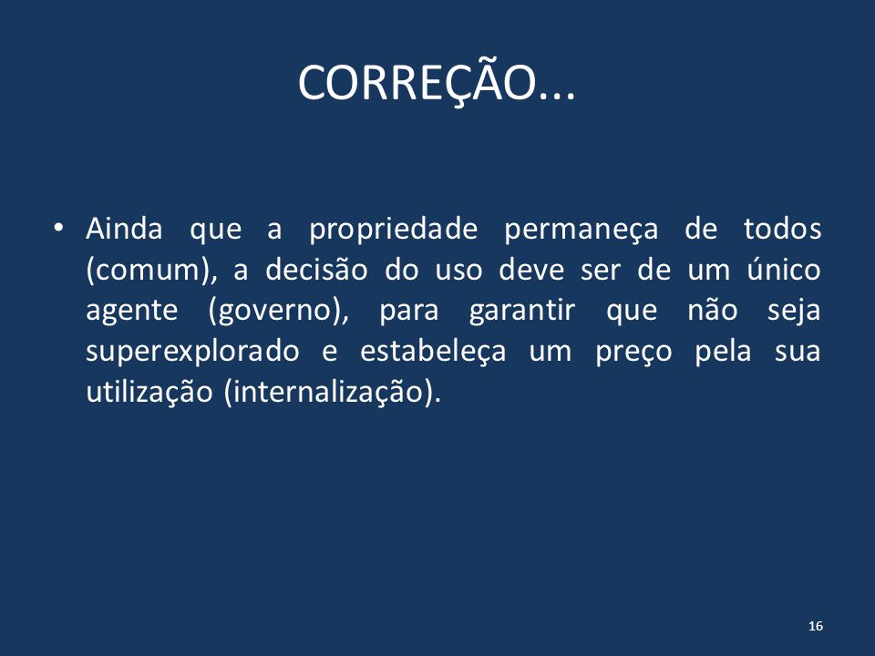 CORREÇÃO...