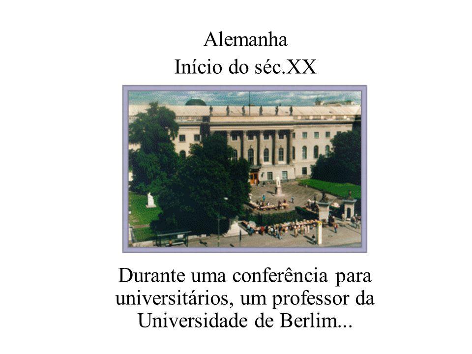 Alemanha Início do séc.XX.