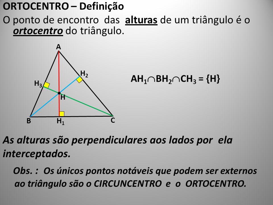 ORTOCENTRO – Definição