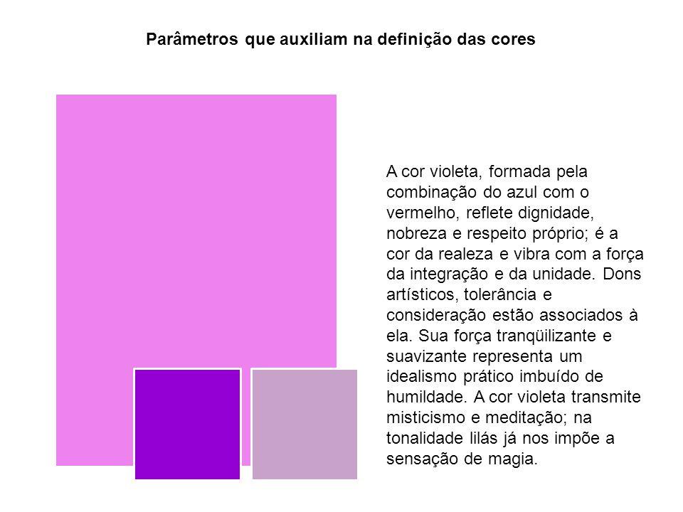 Parâmetros que auxiliam na definição das cores