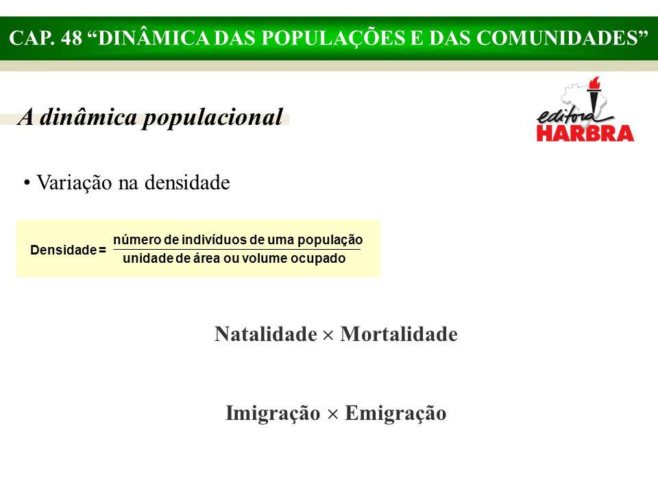 A dinâmica populacional