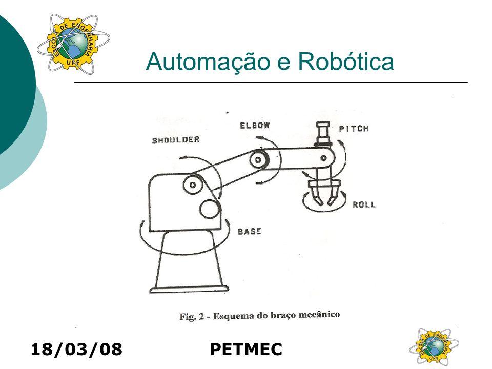 Automação e Robótica 18/03/08 PETMEC