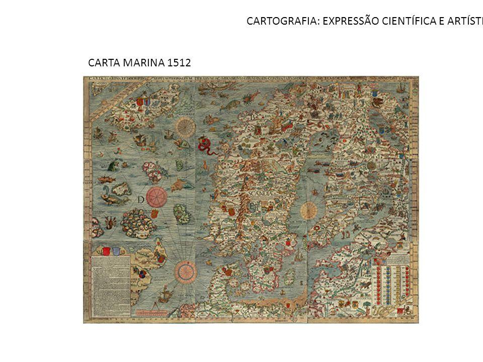 CARTOGRAFIA: EXPRESSÃO CIENTÍFICA E ARTÍSTICA