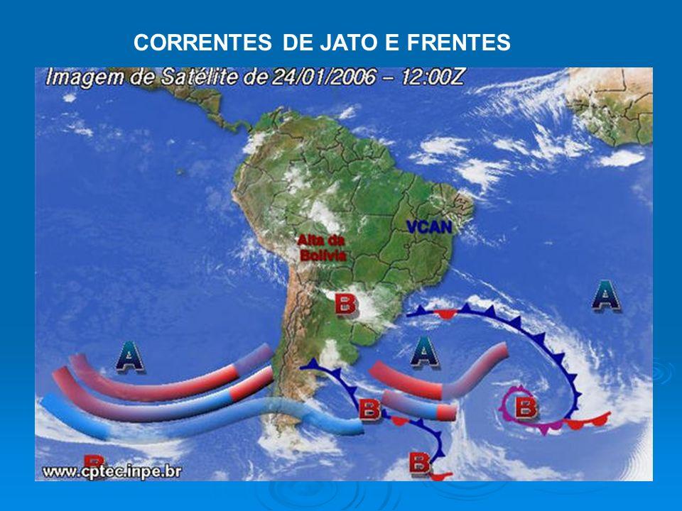 CORRENTES DE JATO E FRENTES