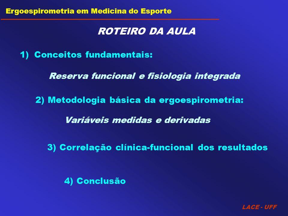 ROTEIRO DA AULA Conceitos fundamentais: