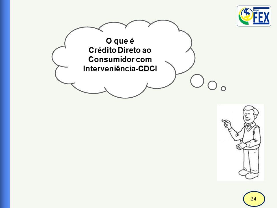 Crédito Direto ao Consumidor com Interveniência-CDCI