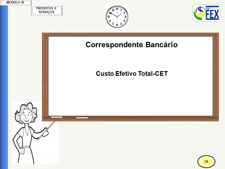 Correspondente Bancário Custo Efetivo Total-CET