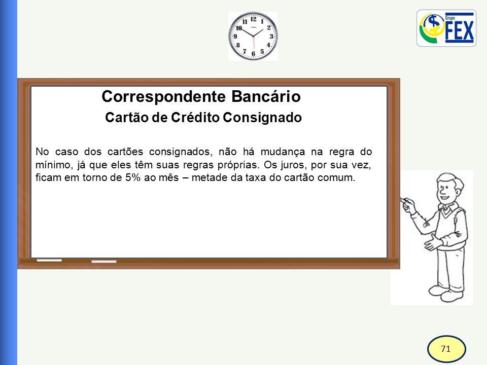 Correspondente Bancário Cartão de Crédito Consignado