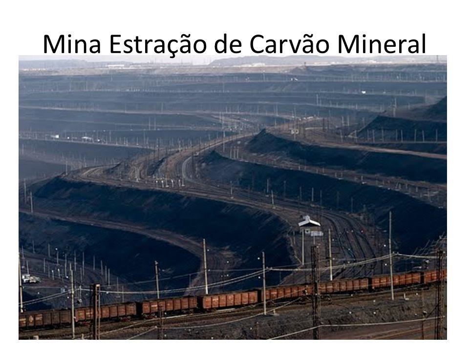 Mina Estração de Carvão Mineral