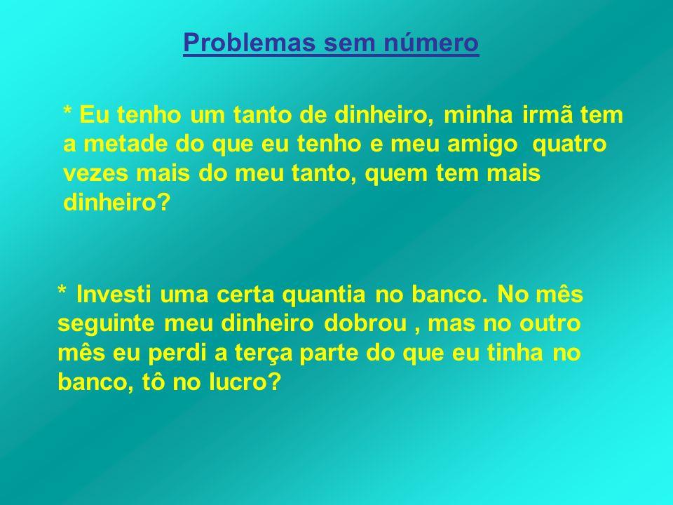 Problemas sem número