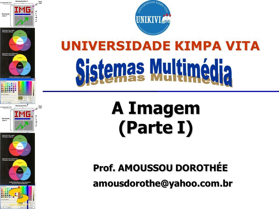 A Imagem (Parte I) Prof. AMOUSSOU DOROTHÉE amousdorothe@yahoo.com.br