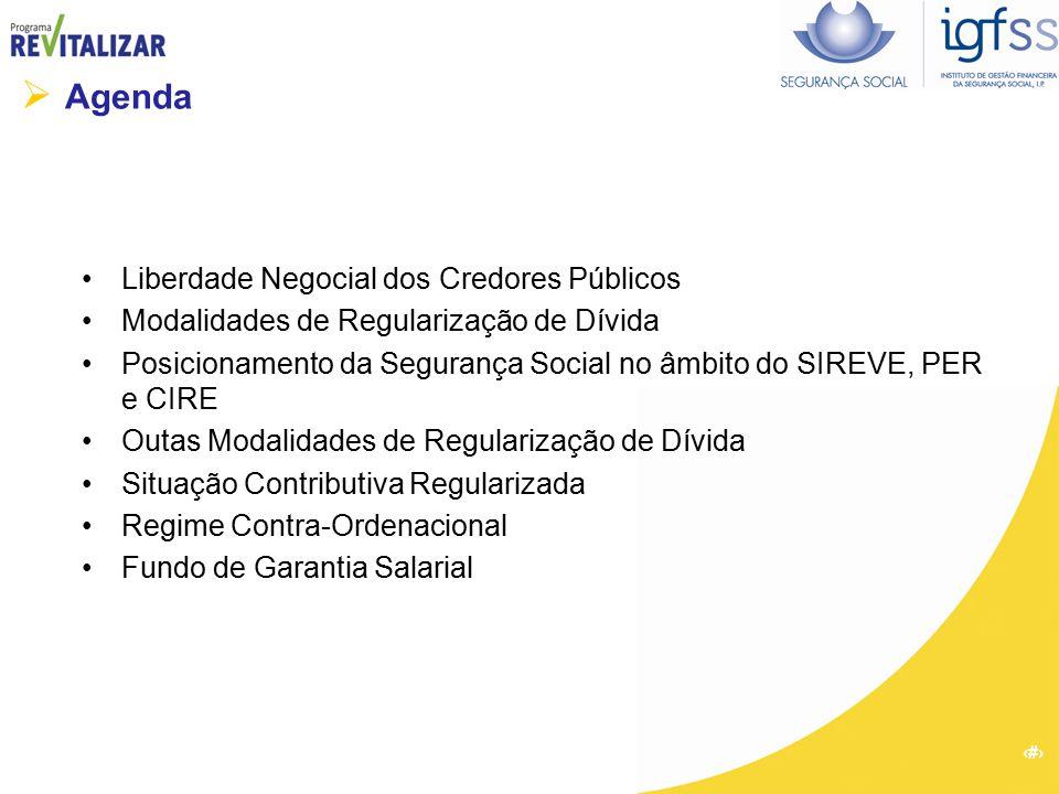  Agenda Liberdade Negocial dos Credores Públicos