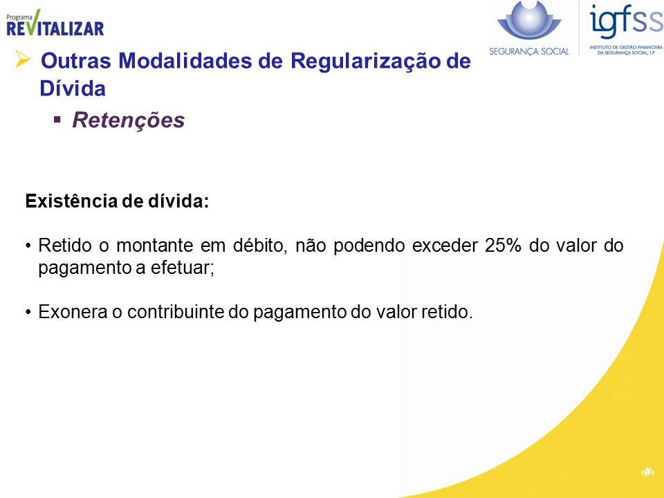  Outras Modalidades de Regularização de Dívida