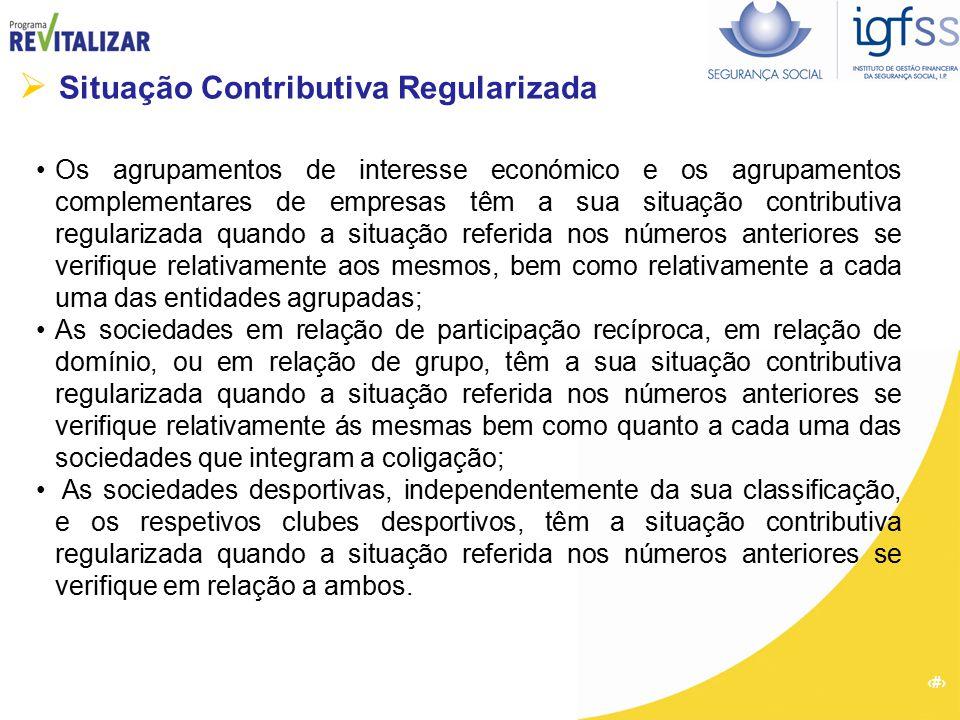  Situação Contributiva Regularizada