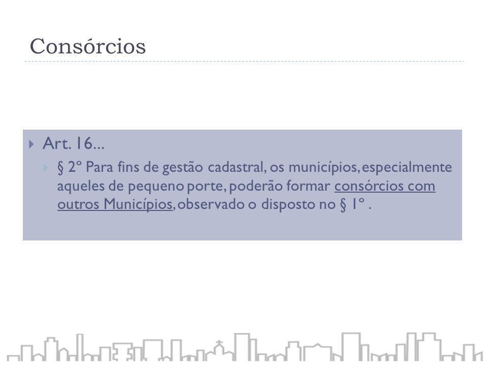 ConsórciosArt. 16...