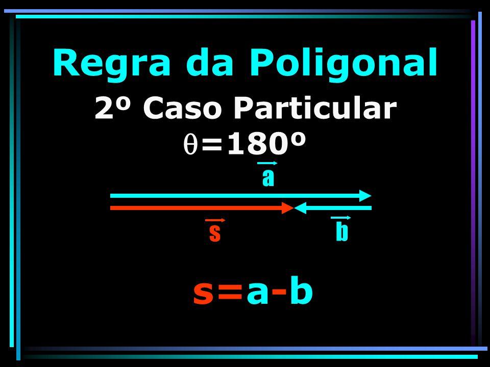 Regra da Poligonal s=a-b