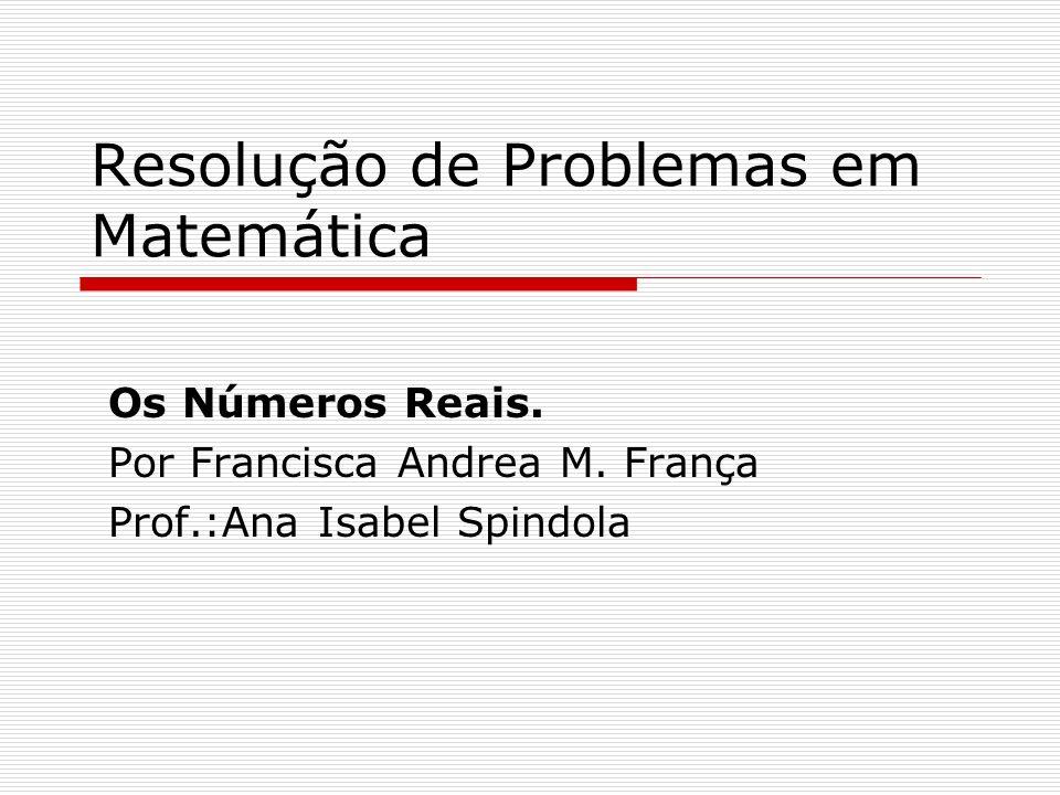 Resolução de Problemas em Matemática