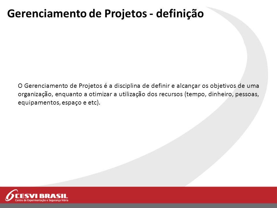 Gerenciamento de Projetos - definição