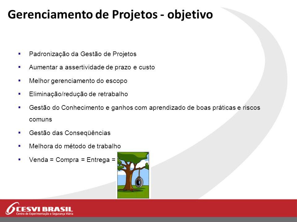 Gerenciamento de Projetos - objetivo