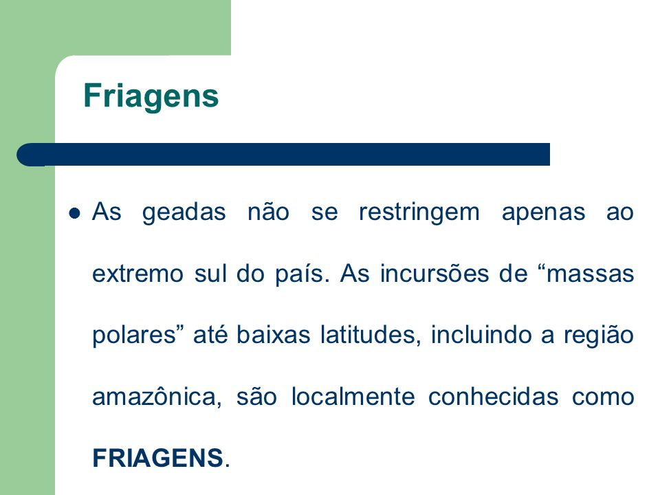 Friagens