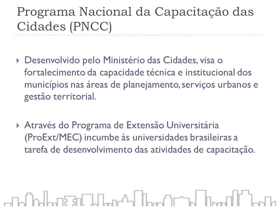 Programa Nacional da Capacitação das Cidades (PNCC)