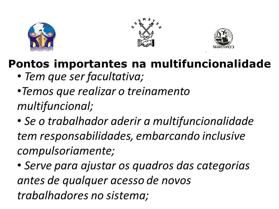 Pontos importantes na multifuncionalidade