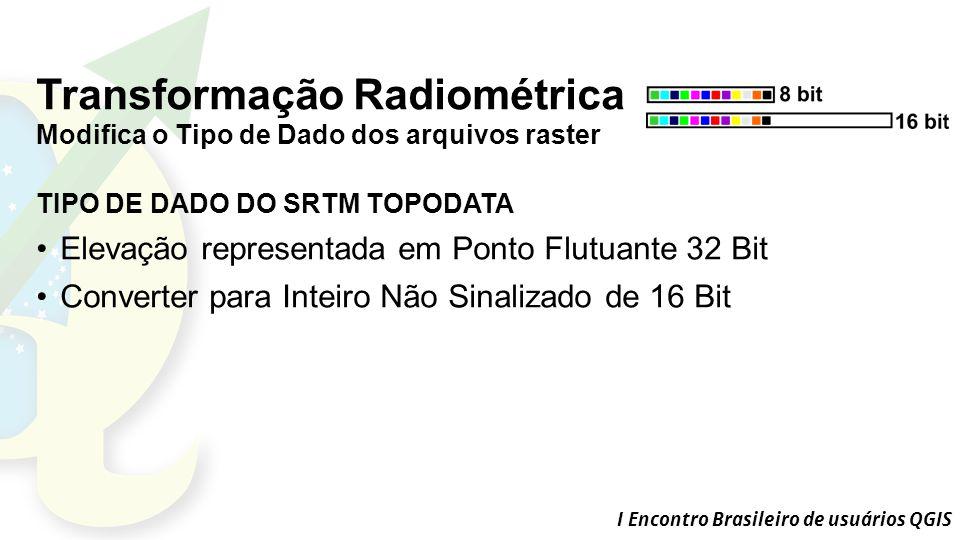 Transformação Radiométrica