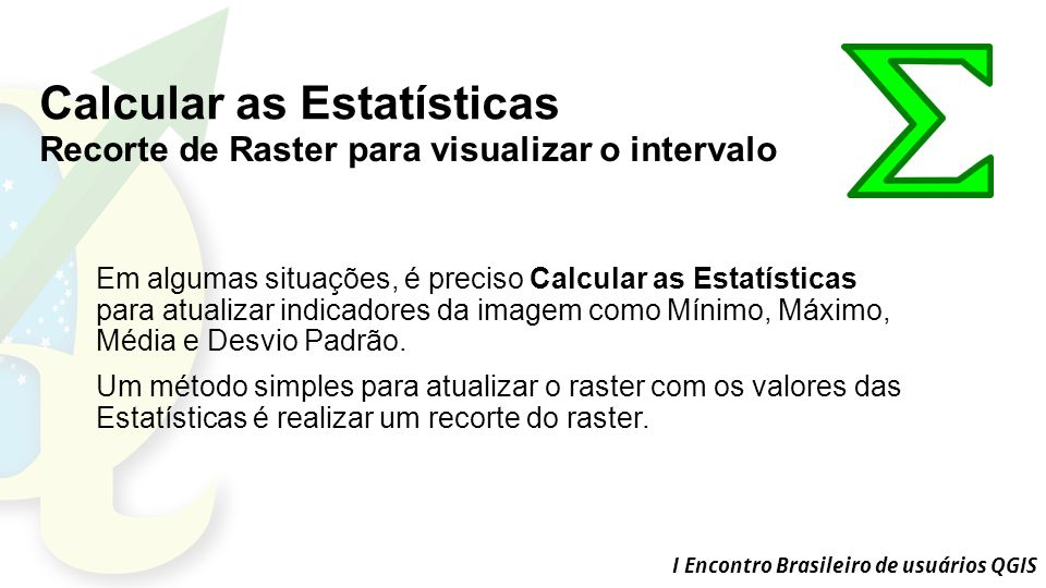 Calcular as Estatísticas
