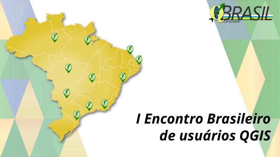 I Encontro Brasileiro de usuários QGIS