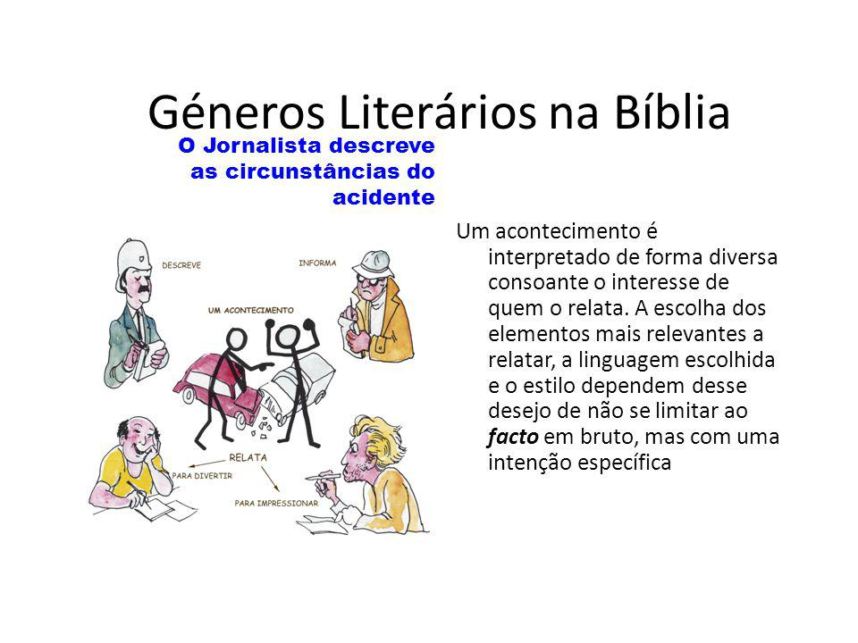 Géneros Literários na Bíblia