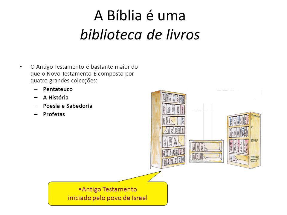 A Bíblia é uma biblioteca de livros