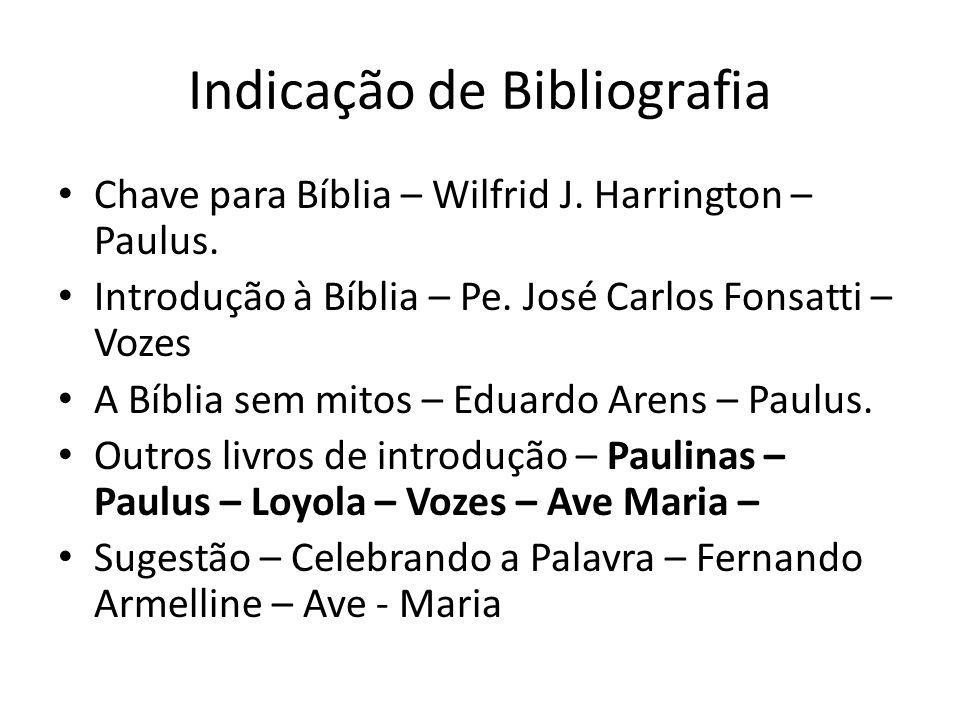 Indicação de Bibliografia