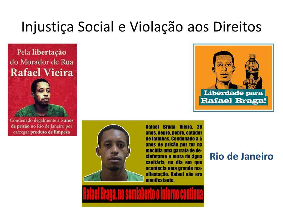Injustiça Social e Violação aos Direitos