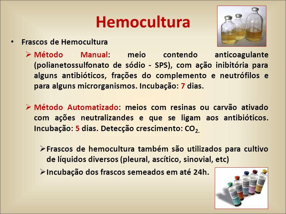 Hemocultura Frascos de Hemocultura