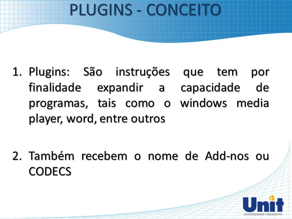 PLUGINS - CONCEITO