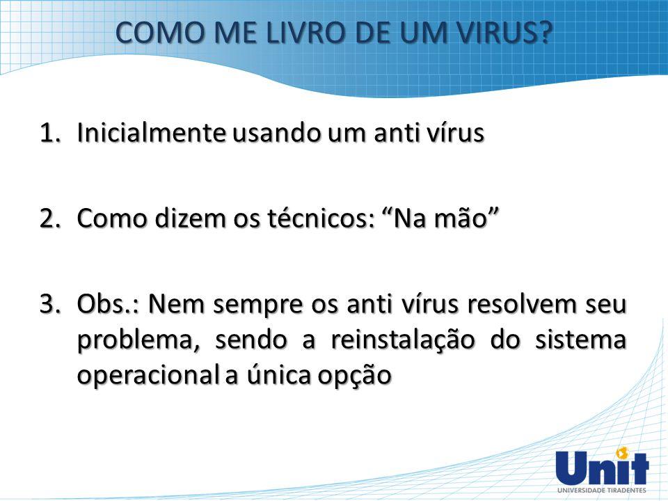 COMO ME LIVRO DE UM VIRUS