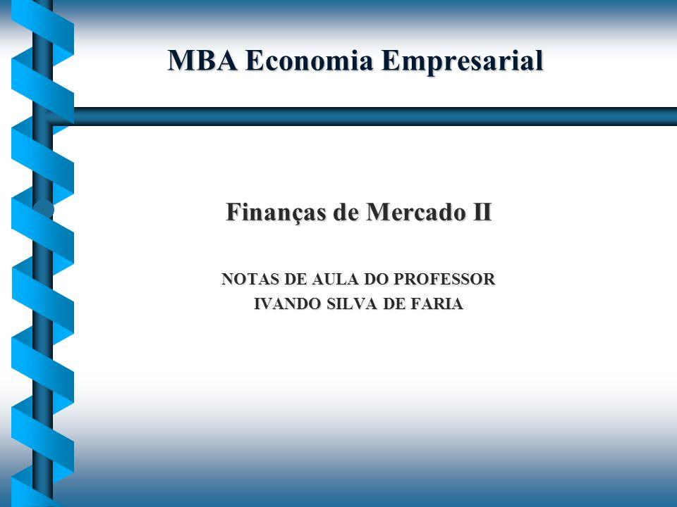 MBA Economia Empresarial