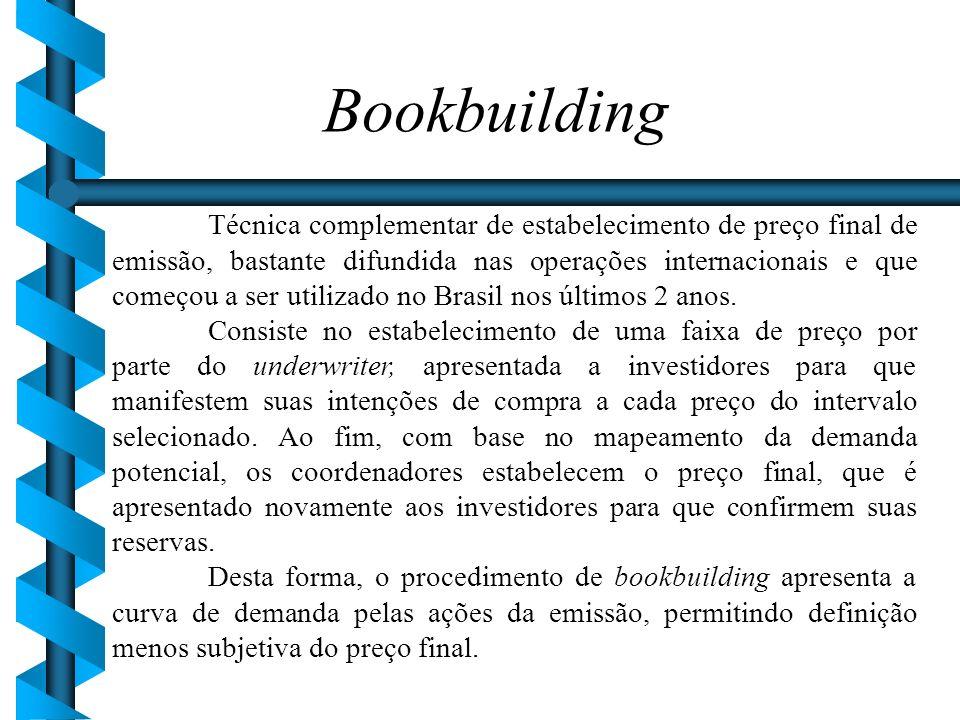 Bookbuilding