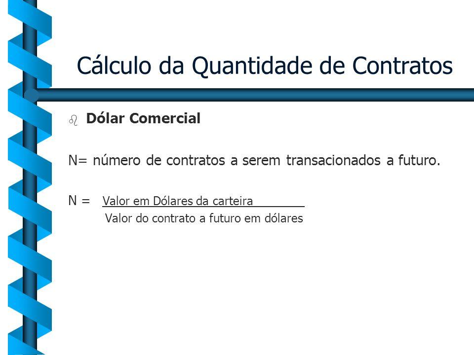 Cálculo da Quantidade de Contratos
