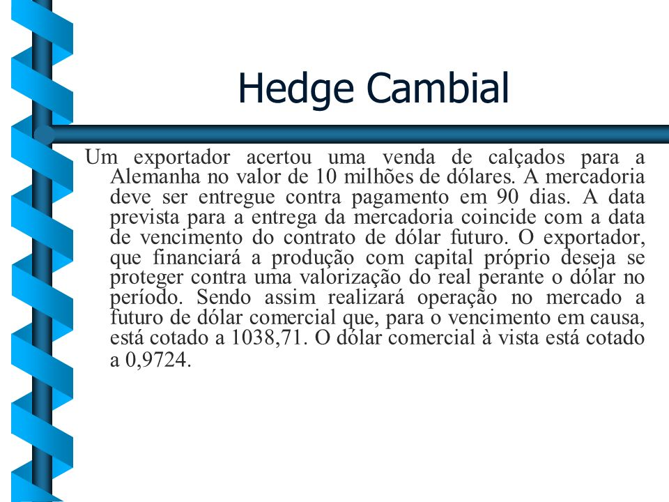 Hedge Cambial