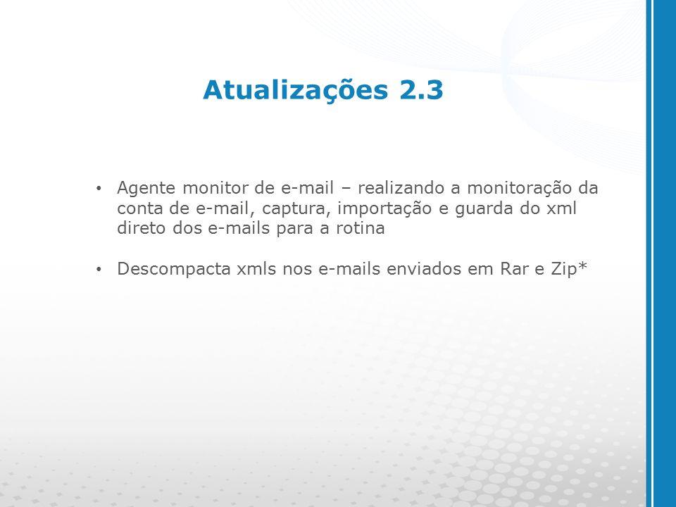 Atualizações 2.3