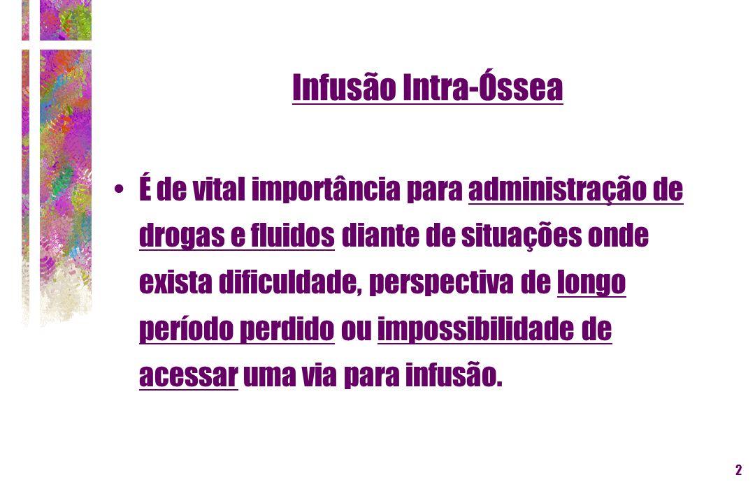 Infusão Intra-Óssea