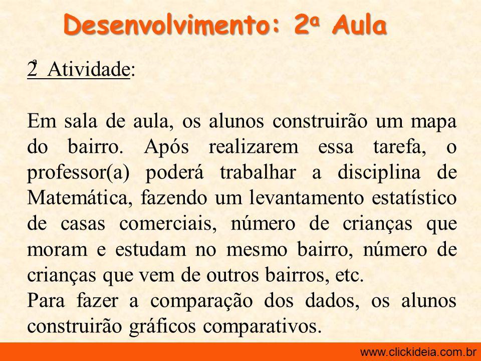 Desenvolvimento: 2a Aula