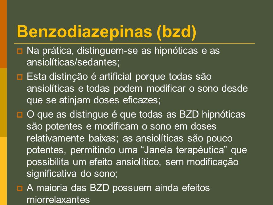 Benzodiazepinas (bzd)