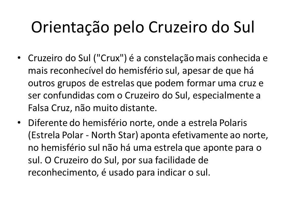 Orientação pelo Cruzeiro do Sul
