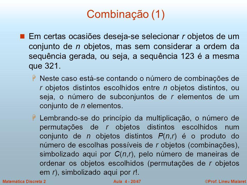 Combinação (1)