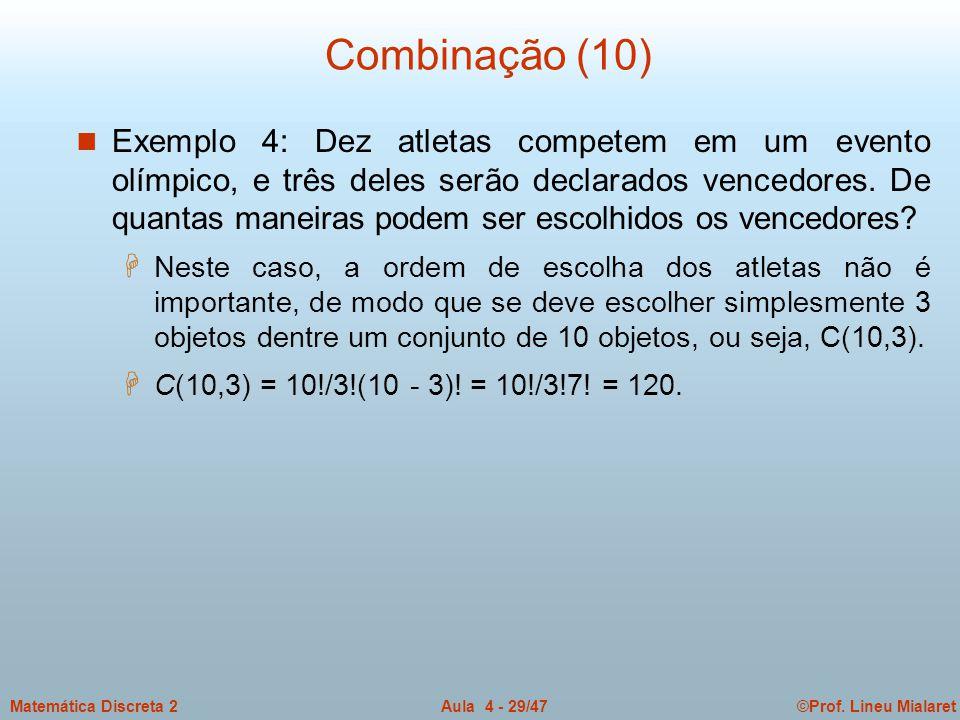 Combinação (10)