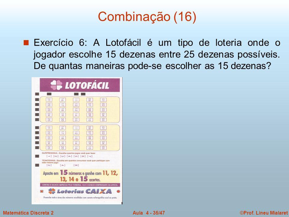 Combinação (16)