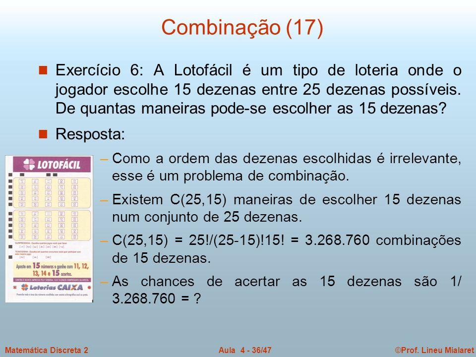 Combinação (17)
